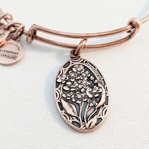 "Alex and Ani Rose Gold ""Grandmother"" Bracelet"